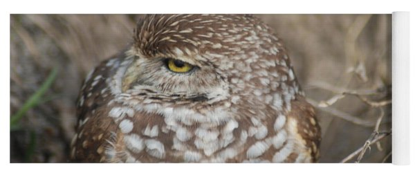 Burrowing Owl Yoga Mat