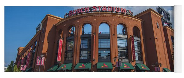 Busch Stadium Clouds Yoga Mat