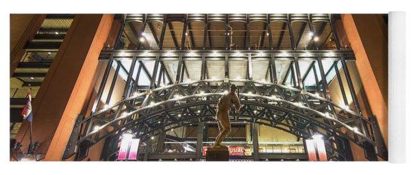 Busch Stadium St. Louis Cardinalsstan Musial Yoga Mat