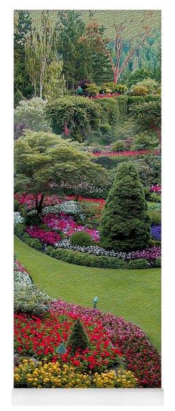Butchart Gardens Yoga Mat
