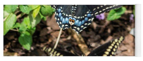 Butterflies Yoga Mat