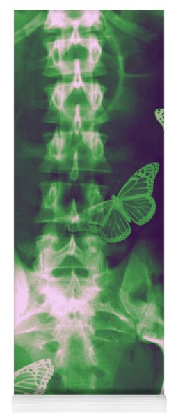 Butterflies In The Stomach Yoga Mat