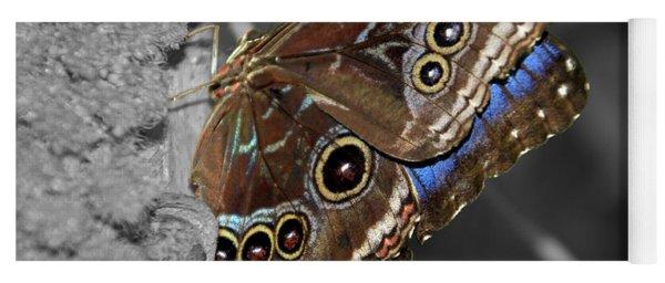Butterfly Spot Color 1 Yoga Mat