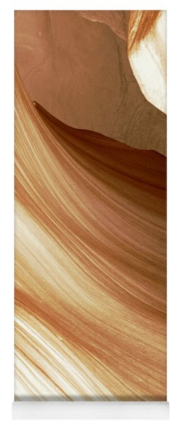 Butterscotch Taffy Antelope Canyon Yoga Mat