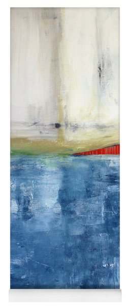 By The Bay- Abstract Art Yoga Mat