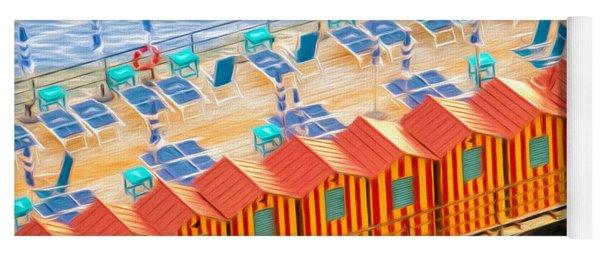 Cabanas Of Sorrento Yoga Mat