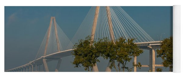 Cable Stayed Bridge Yoga Mat