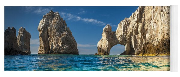 Yoga Mat featuring the photograph Cabo San Lucas by Sebastian Musial