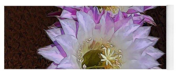 Cactus Flowers Yoga Mat