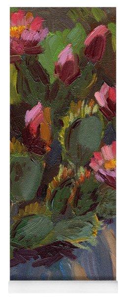 Cactus In Bloom 2 Yoga Mat