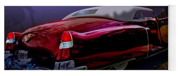 Cadillac Biarritz Convertible Daddy's Caddy Yoga Mat