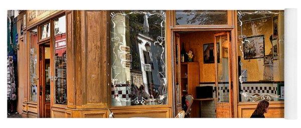 Cafe Montmartre Yoga Mat