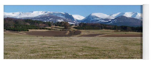 Cairngorm Mountains  Yoga Mat