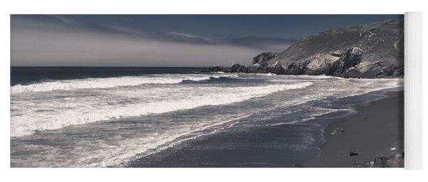 California Coastline Yoga Mat