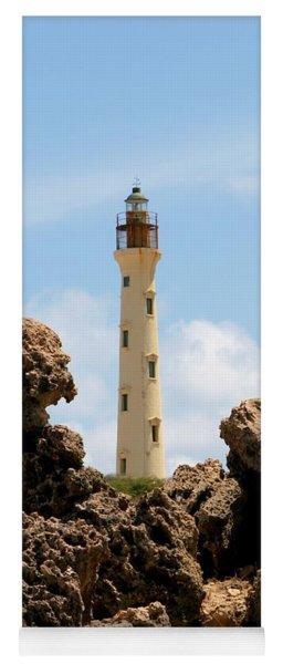California Lighthouse Aruba Yoga Mat