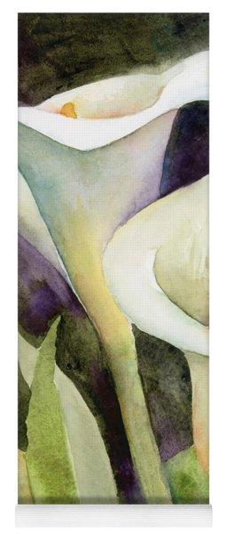 Calla Lilies Yoga Mat