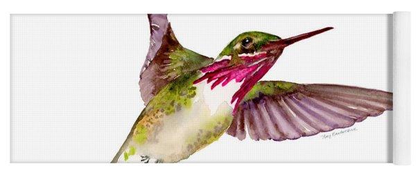 Calliope Hummingbird Yoga Mat