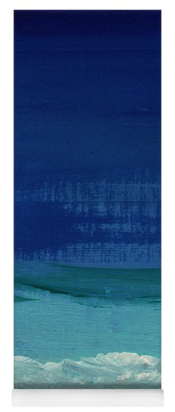 Calm Waters- Abstract Landscape Painting Yoga Mat
