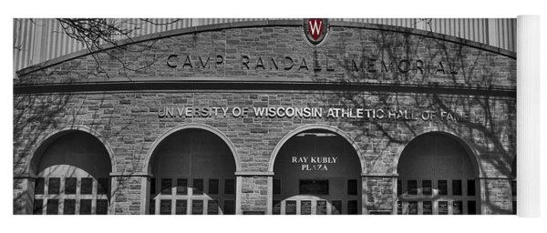 Camp Randall - Madison Yoga Mat