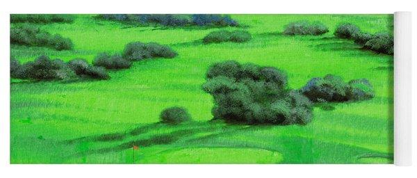 Campo Da Golf Yoga Mat