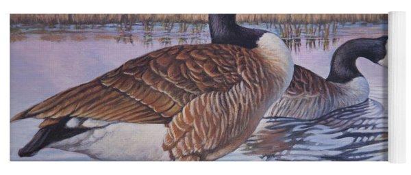 Canadian Geese Yoga Mat