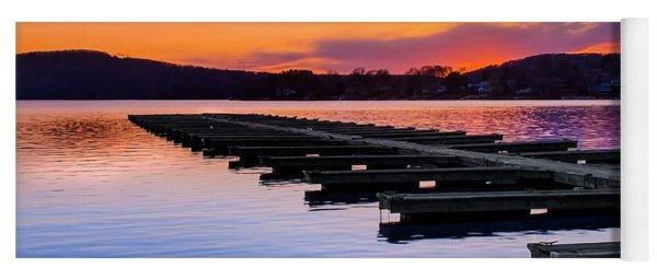 Candlewood Lake Yoga Mat