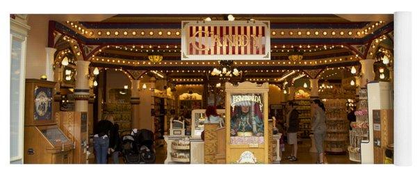 Candy Shop Main Street Disneyland 02 Yoga Mat
