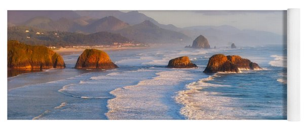 Cannon Beach Sunset Yoga Mat