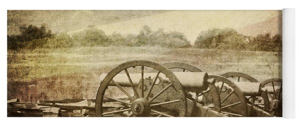 Cannons At Pea Ridge Yoga Mat