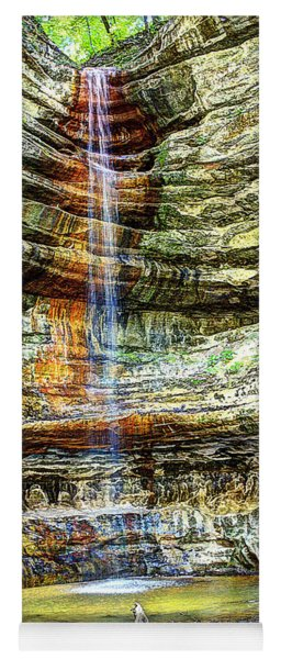 Canyon Starved Rock State Park Yoga Mat