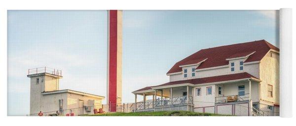 Cape Forchu Lighthouse Yoga Mat