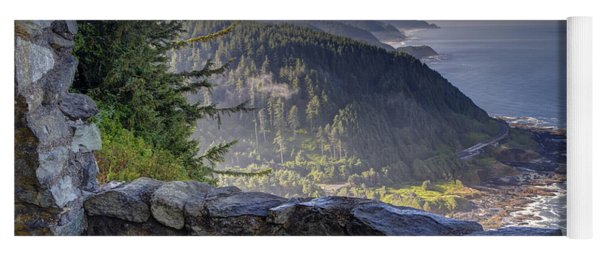 Cape Perpetua Lookout Yoga Mat