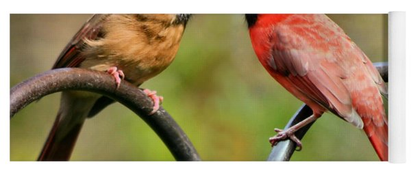 Cardinal Love Yoga Mat