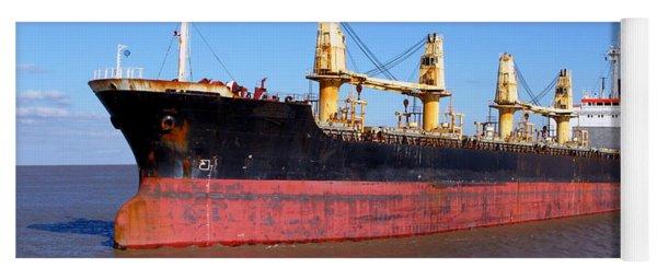 Cargo Ship Yoga Mat