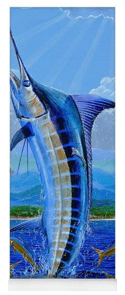 Caribbean Blue Off0041 Yoga Mat