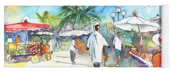 Caribbean Market Yoga Mat