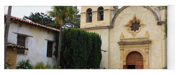 Carmel Mission Church Yoga Mat