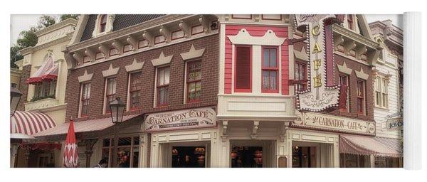 Carnation Cafe Main Street Disneyland 02 Yoga Mat