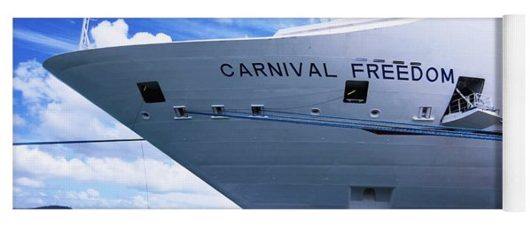 Carnival Freedom Tied Up Yoga Mat