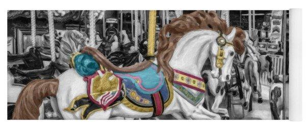 Carousel Horse Equ168125 Yoga Mat