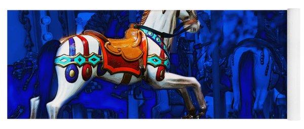 Carousel Horse Yoga Mat