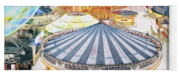 Carousel Waltz Yoga Mat
