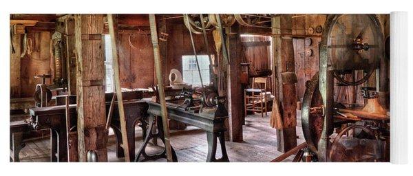 Carpenter - This Old Shop Yoga Mat