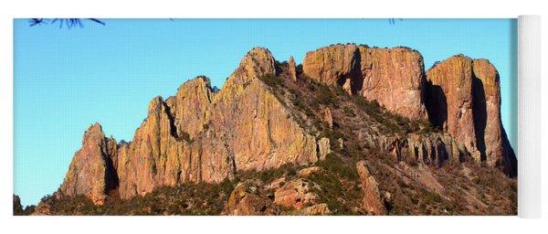 Casa Grande Mountain, Big Bend, Texas Yoga Mat