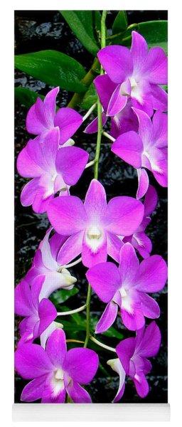 Cascading Orchids Yoga Mat
