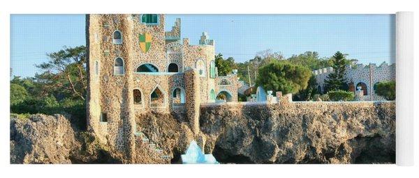 Castle At Sea2 Yoga Mat