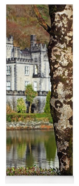 Castle Behind The Trees Yoga Mat