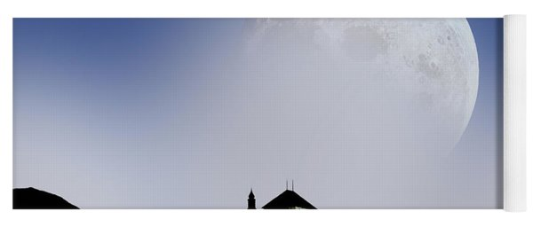 Castle In The Sky Yoga Mat