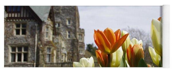 Castle Tulips Yoga Mat
