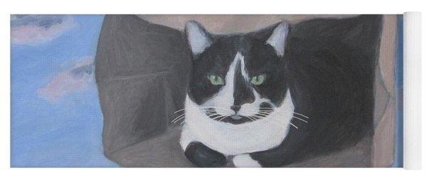 Cat In A Bag Yoga Mat